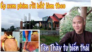 Thầy Tu Biến Th,ái đánh đập bé trai 11 tuổi nhập viện ở Bình Thuận đã bị bắt