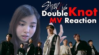 "Stray Kids ""Double Knot"" MV REACTION (IM DUMB) 