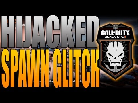 Black Ops 2 - Insane Spawn Glitch on Hijacked (Spawn Behind Enemies - Must Fix!)