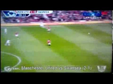 Manchester United vs Swansea City 12 May 2013 Goals And Highlights!