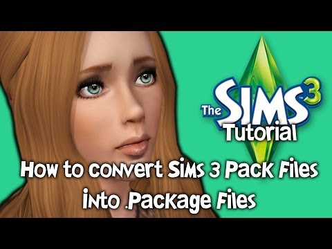 The Sims 3 Tutorial: How to Convert Sims 3 Pack files into .Package files.
