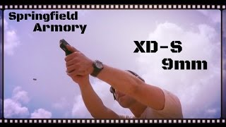 Springfield Armory XDS9 9mm Single Stack Handgun Review (HD)