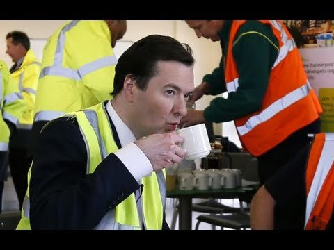 'Mockney' George Osborne backs working Briddish with dodgy accent