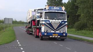 Truckstar Festival 2017 - Oldskool Scania v8 loud Pipes Sound!!! Film mix   TT Circuit Assen