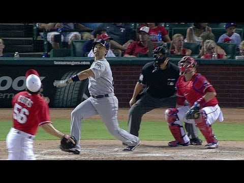 SEA@TEX: Ibanez launches go-ahead two-run shot