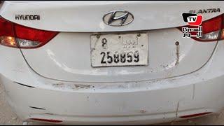 الأمن يشتبه فى سيارة من ليبيا بشارع فيصل