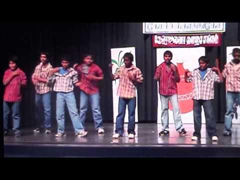 Neeraj 2008 Carolina Tamil Sangam Pongal Dance. Pokkiri Tamil...