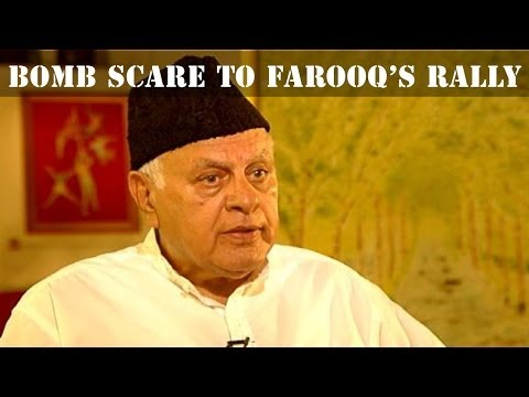 Grenade blast during Farooq Abdullah's rally in Srinagar