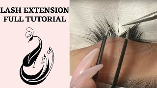 Eyelash Extensions 101 | Full Tutorial on Application