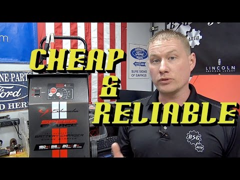 Mini Tool Reviews #9: Shumacher SE1555A Wheeled Automatic Battery Charger