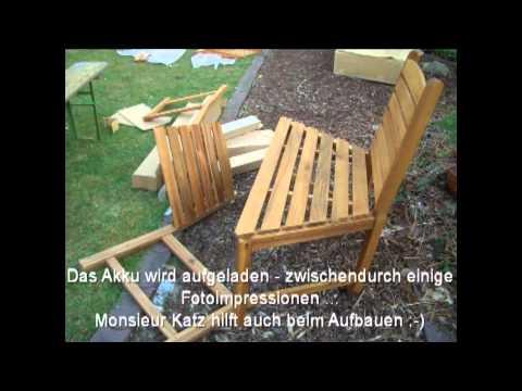 Eine Baumbank Für Den Garten