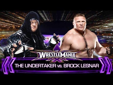 Wwe Wrestlemania - 2014 - Undertaker Vs Brock Lesnar - Normal Full Match video