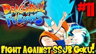 FIGHT AGAINST SUPER SAIYAN BLUE GOKU! | Dragon Ball Fusions (Gameplay / Playthrough) - Episode 11