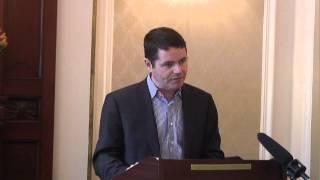 Pascal Donohoe, RIC Seminar, Wynn's Hotel, Dublin