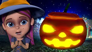 There's A Scary Pumpkin | Halloween Videos and Kids Songs | Music for Children | Little Treehouse