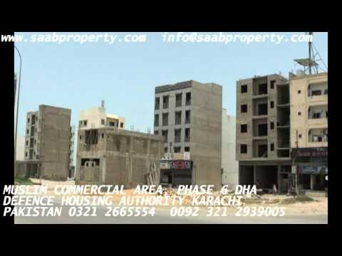 MUSLIM COMMERCIAL AREA PHASE 6 DHA KARACHI PAKISTAN ENGLISH realeste in defence housing authority