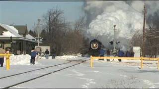 Winter Steam - Steamtown - Tobyhanna Ice Harvest Train