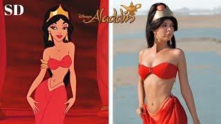 Disney Aladdin 1992 Characters In Real Life !!