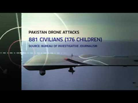 SKY NEWS Pakistan: Imran Khan In Protest Over Drones