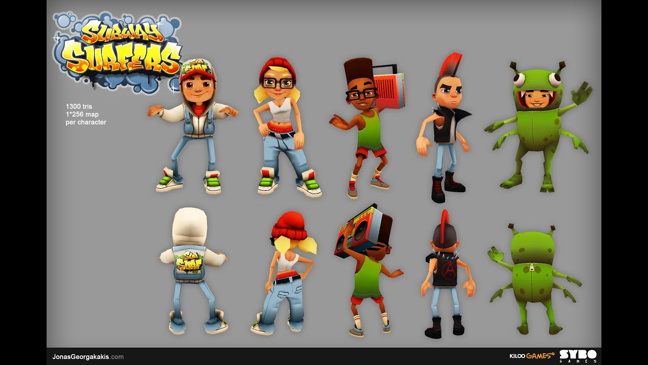subway surfers hidden characters