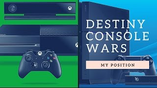 My Position on Destiny Console Wars