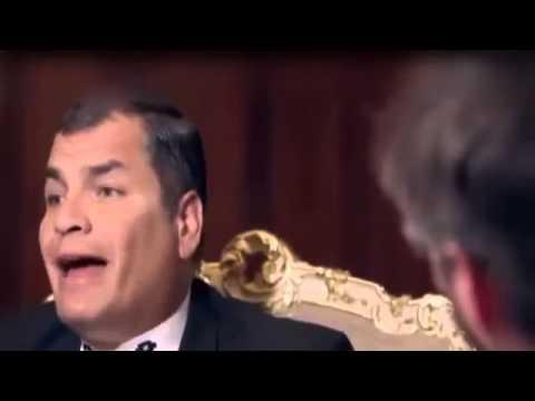 Rafael Correa, Una de las mejores entrevistas!!!, muy buena inf. porfavor leer descripción..