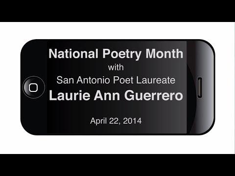 San Antonio Poet Laureate Laurie Ann Guerrero