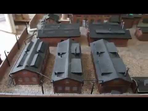 How To Weather Cardstock Models HO Scale Model Train Scenery Weathering Tips And Hints