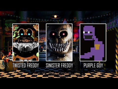 They Join Ultimate Custom Night!? FNAF UCN Mods