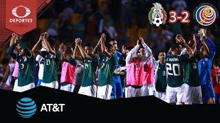 ¡México derrota a Costa Rica! | México 3 - 2 Costa Rica | Amistoso | Presentado por AT&T