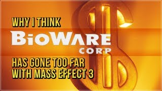 Why I think Bioware has gone too far with Mass Effect 3