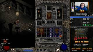 Diablo 2 Any% Normal HC Barbarian - 2:18:15 [WR]