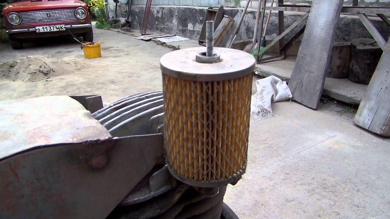 Фильтр воздушный для компрессора своими руками