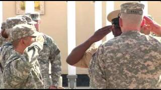 US Navy Chief Pinning Ceremony In Kabul, Afghanistan