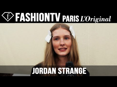 Jordan Strange: My Look Today | Model Talk | Fashiontv video