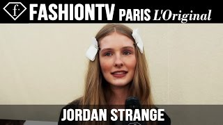 Jordan Strange: My Look Today | Model Talk | FashionTV