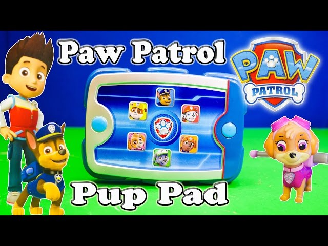 PAW PATROL Nickelodeon Ryder Pup Pack Paw Patrol Video Toy Review