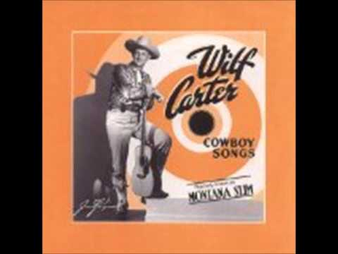 Wilf Carter - The Blind Boys Prayer