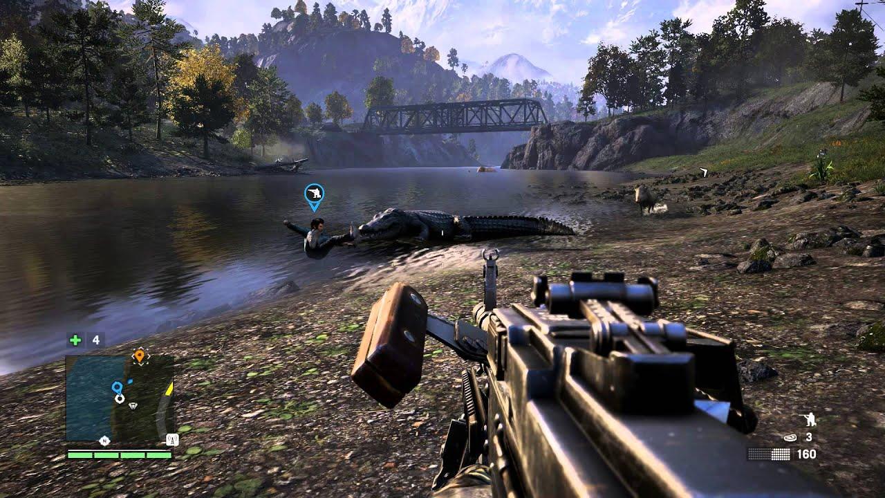 Crocodile Far Cry 4 - YouTube