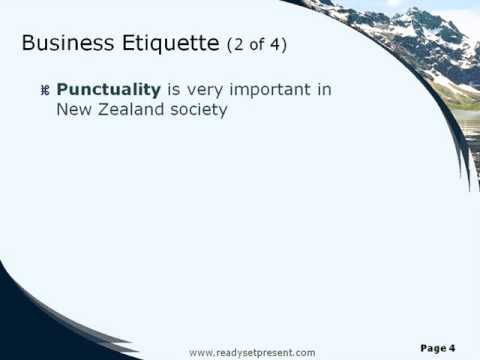 New Zealand Powerpoint Presentation
