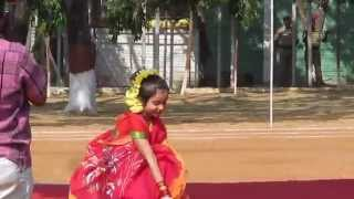 beautiful young girl bengali dance