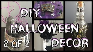 🎃 Dollar Tree DIY Halloween Decor | PART 2 🎃