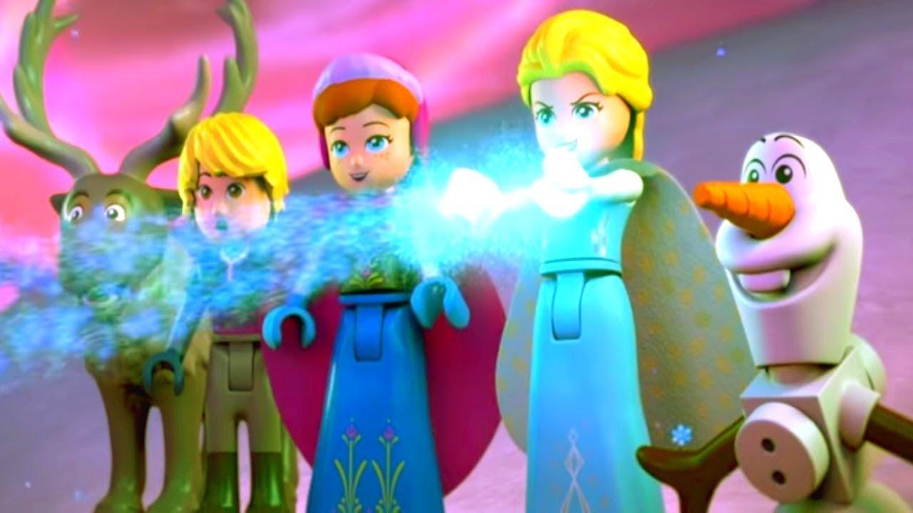 LEGO Холодное сердце - Северное сияние - спецвыпуск мультфильм Disney