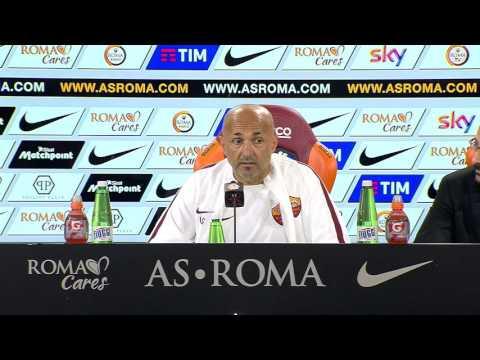 Spalletti in conferenza stampa pre Atalanta-Roma (VIDEO INTEGRALE HD) 16.04.16