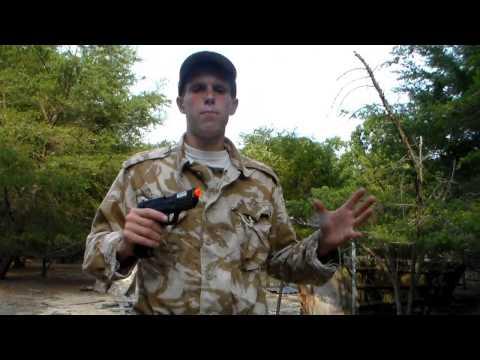 ASG BERSA BP9CC CO2 Airsoft Pistol Chrono/Shooting Test
