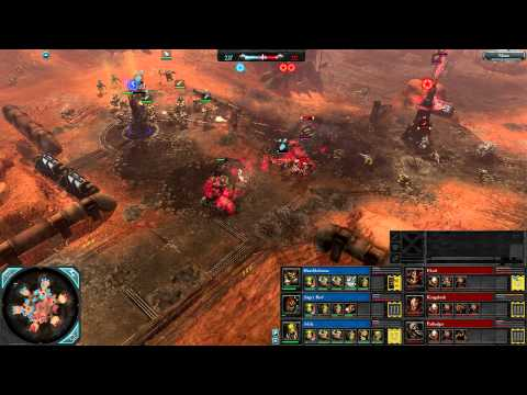 Dawn of War 2: Retribution — 3v3 | Faction War — Orks [vs] Chaos | 3