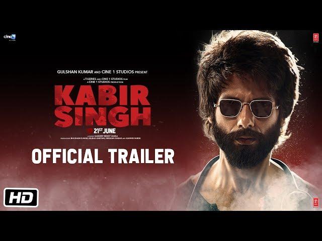 Kabir Singh – Official Trailer | Shahid Kapoor, Kiara Advani | Sandeep Reddy Vanga | 21st June 2019 thumbnail