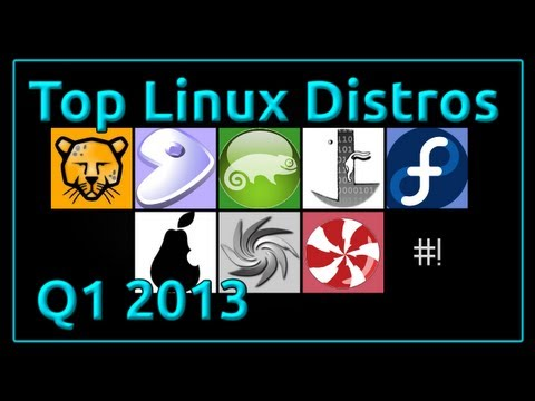 Top Linux Distros January - March 2013