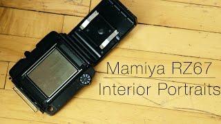 Interior Portraits - Mamiya RZ67