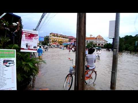 Flooding Siem Reap